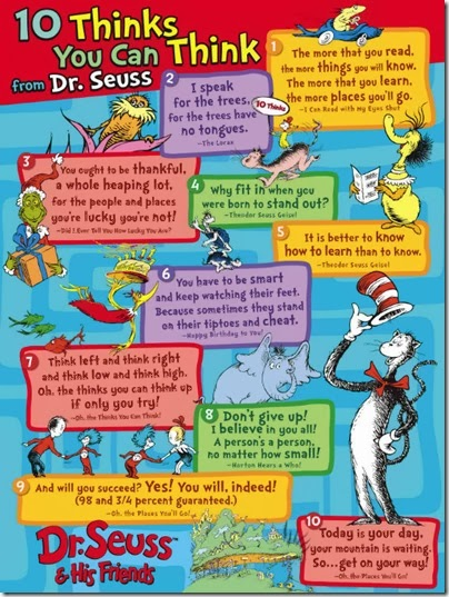 30 Dr Seuss Quotes Poster. QuotesGram